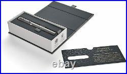 New Parker Ingenuity 5th Technology Writing Pen Fine Point Black Deluxe Chrome