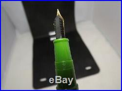 OMAS Extra D-Day Limited Edition Fountain Pen, EXCELLENT! FINE Point Nib #1814