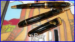 OMAS Ogiva Autunno Celluloid Fountain & Ball point Pens 18k Fine Nib