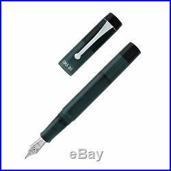 Opus 88 Demonstrator Fountain Pen Grey Fine Point NEW in box 96084502F