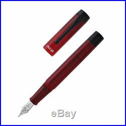 Opus 88 Demonstrator Fountain Pen Red Fine Point NEW in box 96085505F