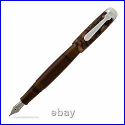 Opus OMAR Fountain Pen Brown, Fine Point NEW in box