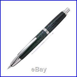 PILOT Capless VANISHING POINT Raden Maki-e Black Nib 18k Fine Fountain Pen