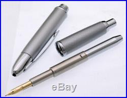 PILOT NAMIKI Capless Silver Accents Special Alloy Nib Fountain Pen Silver