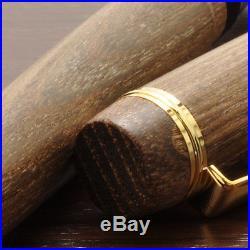 PILOT NAMIKI Custom Enju Wood Mokume 18K Gold Nib Fountain Pen