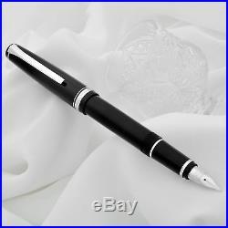 PILOT NAMIKI Falcon Elabo Resin 14kt Gold Nib Fountain Pen Black