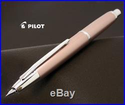 PILOT NAMIKI Vanishing Point Decimo Pink 18K Gold Rhodium Nib Fountain Pen