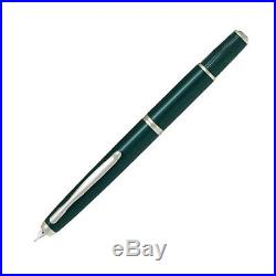 PILOT NAMIKI Vanishing Point Fermo Dark Green 18K Gold Rhodium Fountain Pen