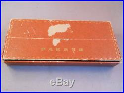 Parker 21 Dark Green barrel Gold Cap Set-fine point