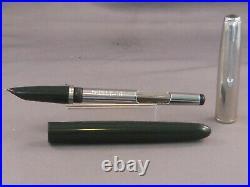 Parker 51 Dark Green Fountain Pen- works-fine point