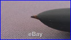 Parker 51 Gray Gold Cap (1/8th l4k) Fountain Pen works-fine point