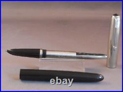 Parker 51 Special Black Fountain Pen works-fine point