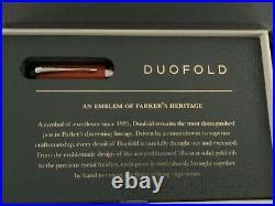 Parker Duofold Centennial Big Red Fine Point Fountain Pen