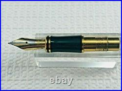 Parker Duofold Centennial Nib Unit-18k Gold-Fine Point