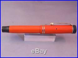 Parker Duofold Junior Fountain Pen-Orange -fine point