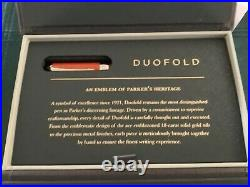 Parker Duofold international Big Red fine point fountain pen