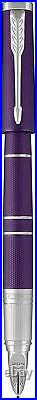 Parker Ingenuity 5th Technology Pen Fine Point with Black Ink Deluxe Blue Violet