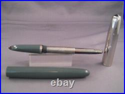 Parker Vintage 51 Special Gray Fountain Pen works-extra-fine point