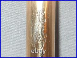 Parker Vintage 51 l4k G. F Fountain Pen works-fine point