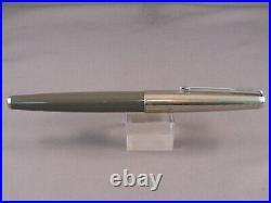 Parker Vintage 61 Rainbow Cap Gray Fountain Pen-fine point