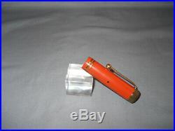 Parker Vintage Duofold Junior Fountain Pen-Orange -fine/extra fine point