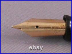 Parker Vintage Green Standard Vacumatic Fountain Pen-fine point