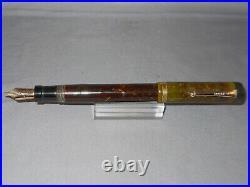 Parker Vintage Senior Jade Green Fountain Pen working- l4k fine point