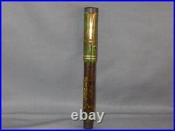 Parker Vintage Senior Pen Jade Green working- l4k fine point