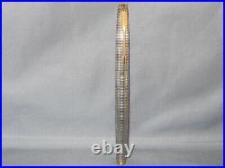 Parker Vintage Sterling Silver 75 Fountain Pen-fine point-dished cap button