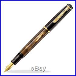 Pelikan Classic M200 Fountain Pen Brown Marbled Extra Fine Point