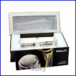 Pelikan Souveran M805 Demonstrator Fountain Pen Clear Fine Point -967860