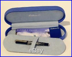 Pelikan Special Edition Niagara Falls Fountain Pen Fine Point Used Once