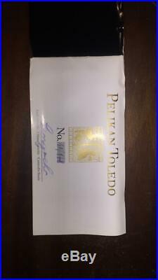 Pelikan Toledo M700 Fountain Pen Black & Gold Fine Point Special Edition Certifi