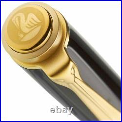 Pelikan Toledo M700 Fountain Pen in Black & Gold Special Edition Fine Point