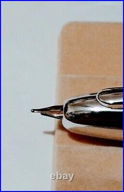 Pen Gold 14K585 Pilot Namiki Capless Vanishing Point Fountain Fine Nib Gray