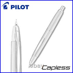 Pilot CAPLESS STRIPE Point Fountain Pen Fine Nib FC-3MS-S-F