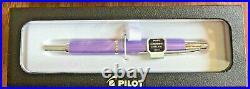 Pilot Capless Decimo Fountain Pen Purple Extra Fine Point 65336 NEW