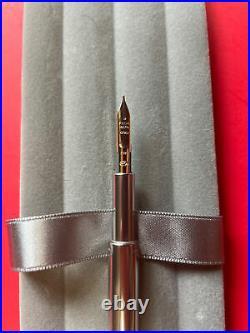 Pilot Capless Vanishing Point Black Gold Rare Fine Medium Nib Fountain Pen