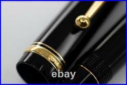 Pilot Custom 74 5 F 14k 585 Gold Nib Black fountain pen fine point