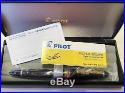 Pilot Custom 823 Fountain Pen Smoke black 14K Fine Point fountain pen
