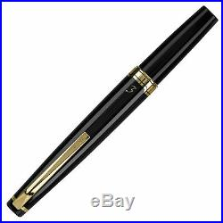 Pilot E95s Fountain Pen Black & Gold Extra Fine Point Brand New P60836