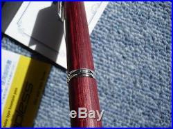 Pilot NAMIKI Capless Fountain Pen Vanishing Point Wood Deep Red 18K EF / F / M