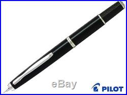 Pilot NAMIKI FERMO F (Fine) Nib Vanishing Point Capless BK (Black) fountain pen