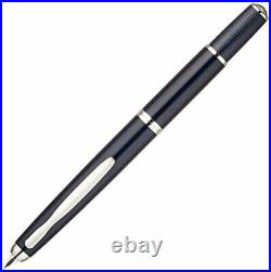 Pilot NAMIKI FERMO F Fine Nib Vanishing Point Capless Dark Blue fountain pen