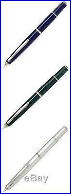 Pilot NAMIKI FERMO Vanishing Point Capless DG fountain pen F (Fine) nib