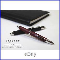 Pilot NAMIKI Wood Vanishing Point Capless BK (Black) Fine (F) nib fountain pen