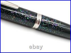 Pilot Namiki Black Raden Vanishing Point Capless Fountain Pen 18k Fine Japan