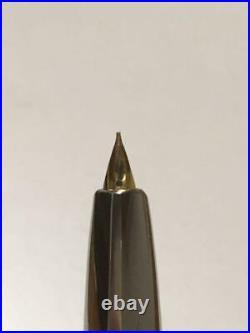 Pilot Namiki Fountain Pen 1980s Vanishing Point Black FCN-500R Nib Gold 14K Fine
