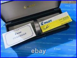 Pilot Namiki Fountain Pen Vanishing Point Green Limited Color Nib Gold 18K Fine