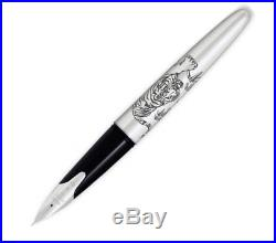 Pilot Namiki Sterling Collection Fountain Pen Tiger Fine Point N63419